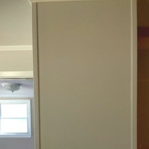 painted paneling walls
