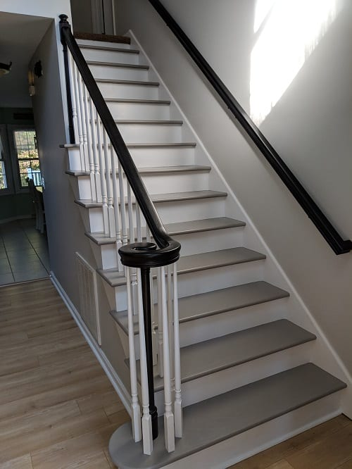 Painted Oak Staircase